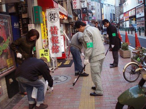 ガム取りin歌舞伎町